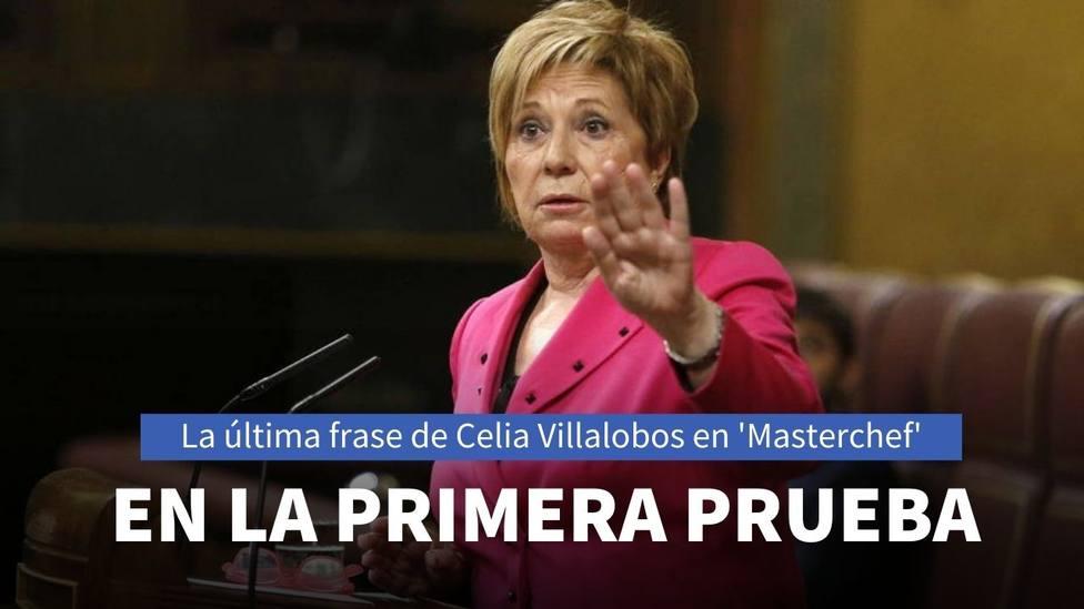 La frase de Celia Villalobos en MasterChef Celebrity que ha pillado a la audiencia por sorpresa