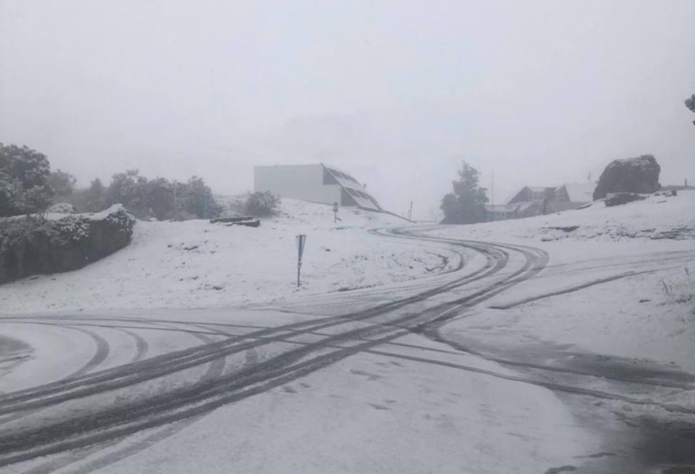 La nieve vuelve al Pirineo en septiembre