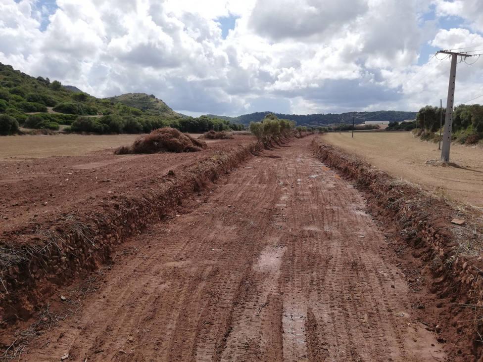 El Gob Menorca acusa a Medio Ambiente de destrozar los torrentes