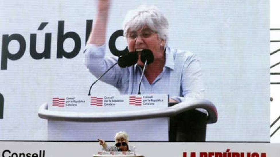 Clara Ponsatí califica a los Mossos de fuerzas de ocupación en Cataluña