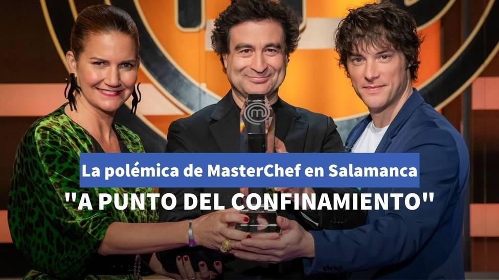La polémica imagen de Masterchef en Salamanca que ha provocado la indginación de muchos seguidores