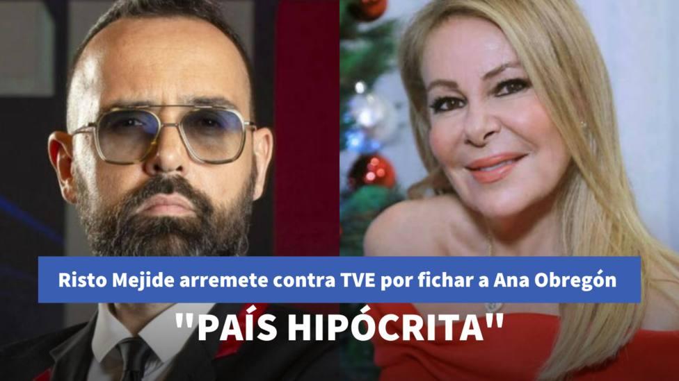 Risto Mejide y Ana Obregón