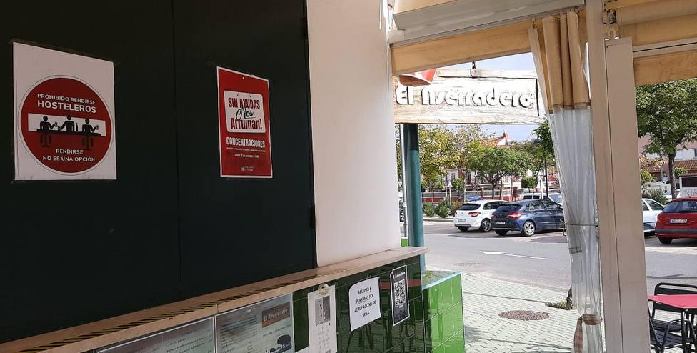 Manifiesto de la concentración del sector hostelero en Huelva