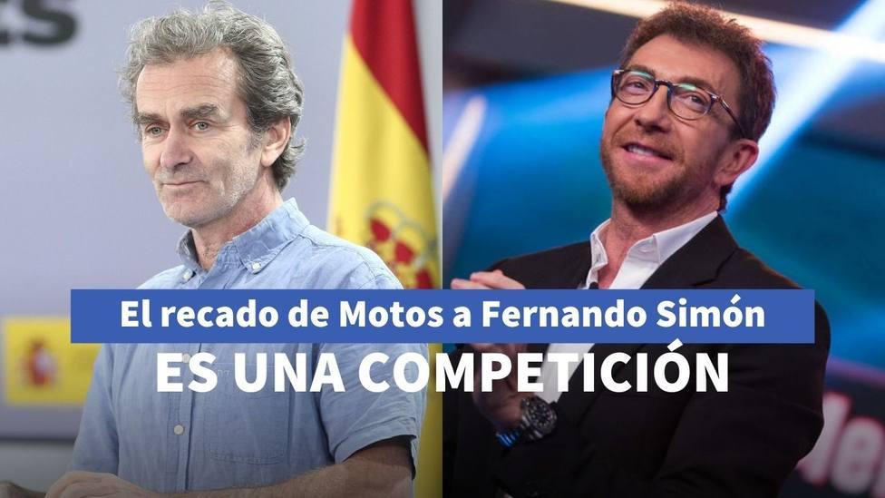 Fernando Simón y Pablo Motos