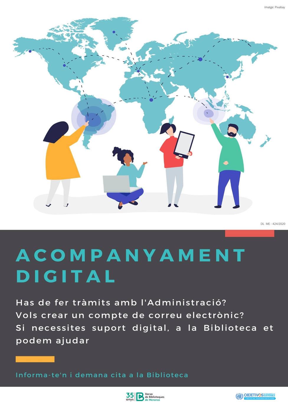 Acompañamiento digital por una Biblioteca al alcance
