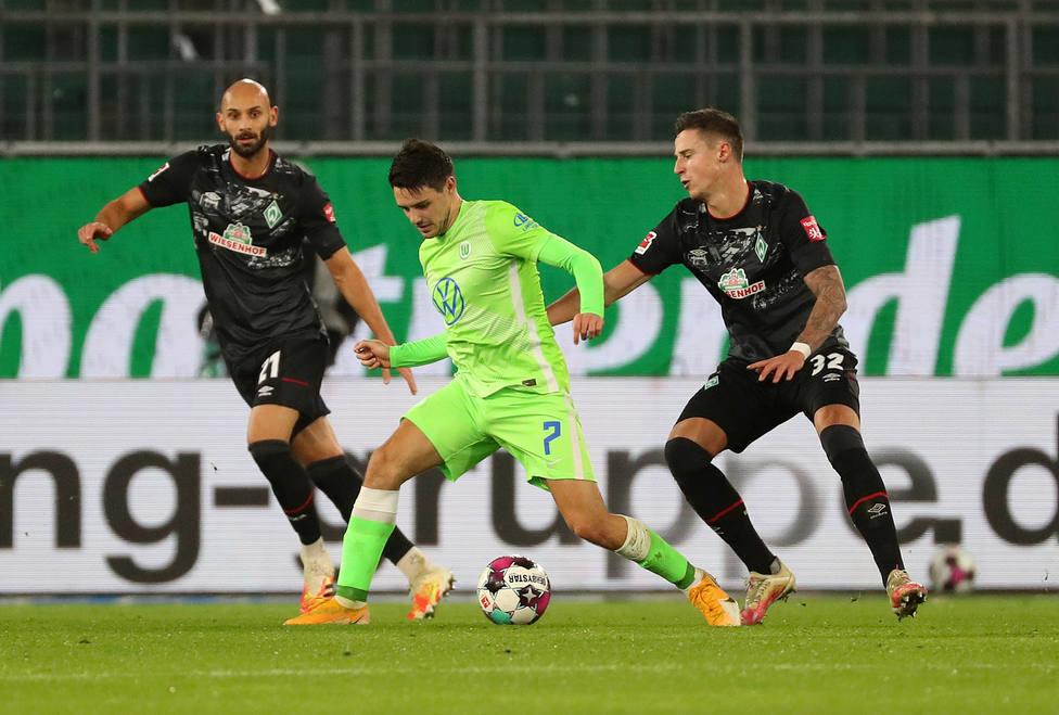 El Wolfsburgo aguanta ante el Werder Bremen y se afianza en puestos europeos