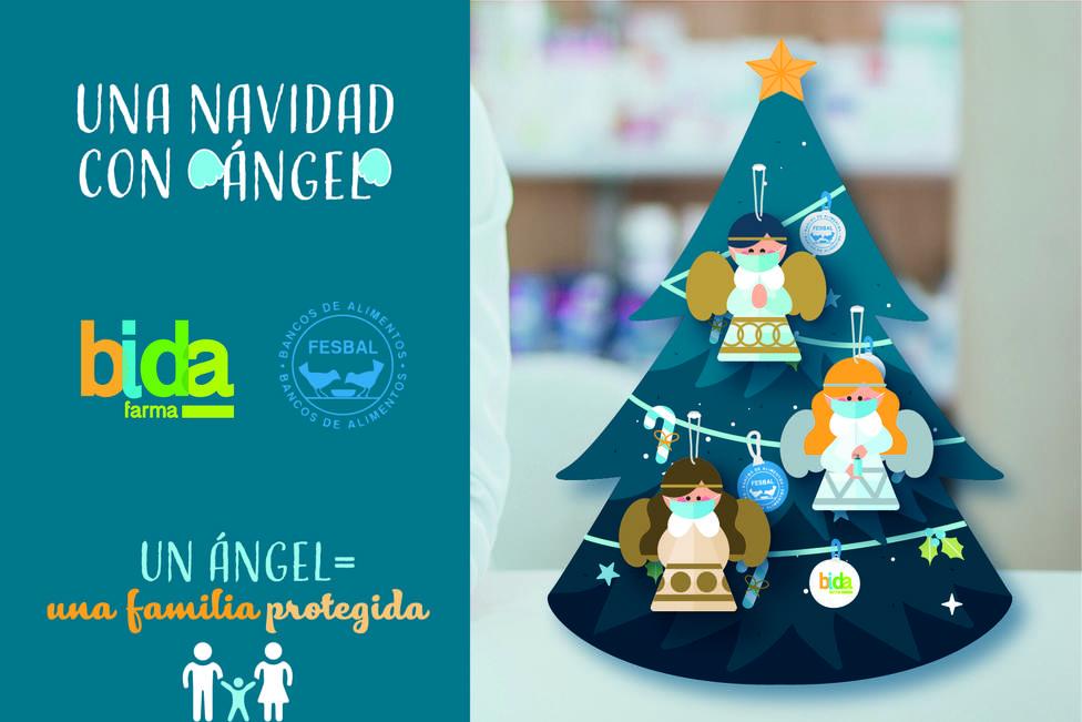 Las farmacias llenarán la Navidad de ángeles para ayudar a las familias necesitadas