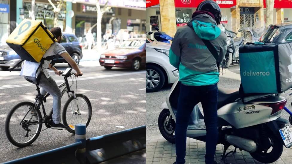 La obligación que estudia la DGT a los repartidores en bicicleta o en moto