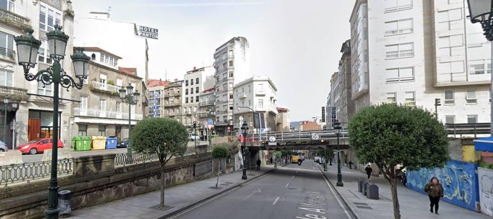 Calle Alfonso XIII en Vigo
