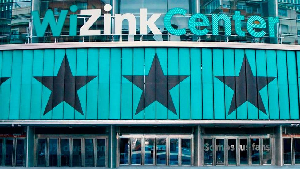 Entrada principal del Wizink Center, de Madrid