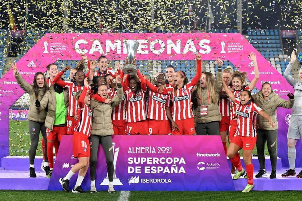 El Atlético de Madrid, campeón de Supercopa femenina.