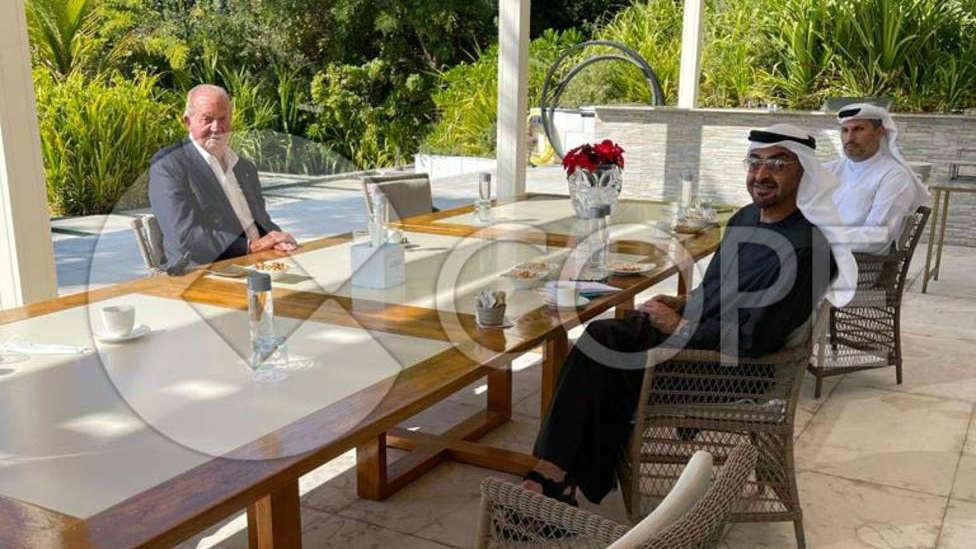 La fotografía exclusiva de COPE que refleja el buen estado de salud de Don Juan Carlos en Abu Dabi