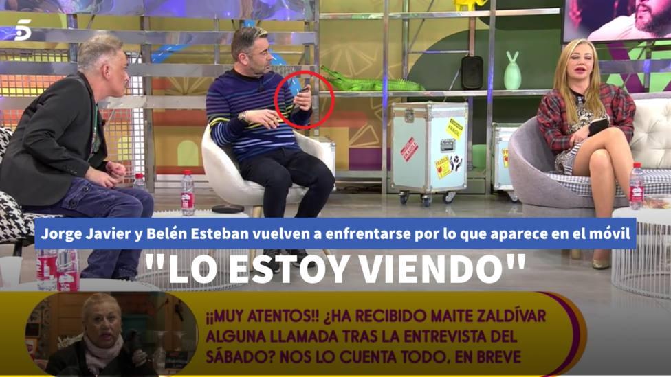 Jorge Javier y Belén Esteban