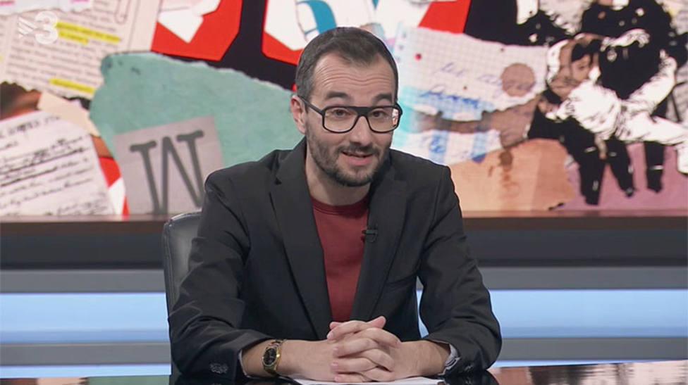Jair Domínguez es colaborador habitual en TV3 y Catalunya Rádio