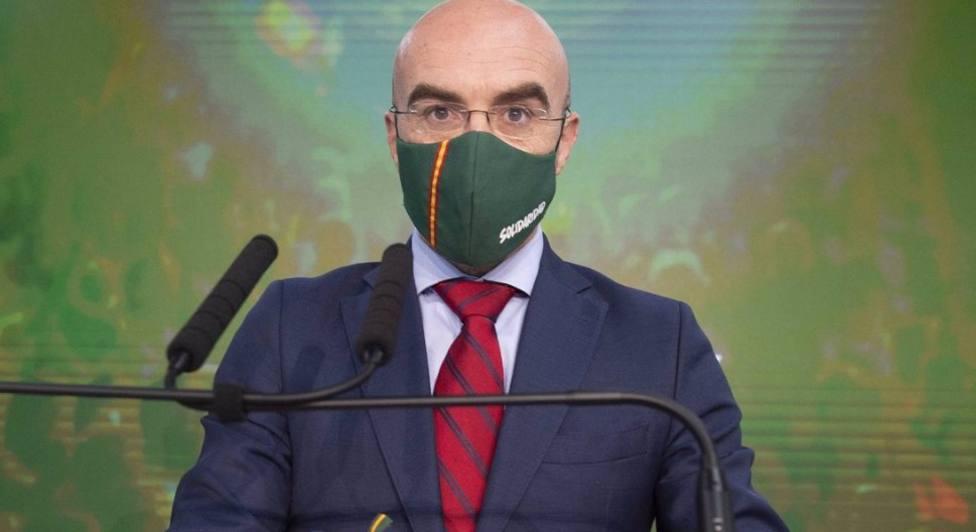 Jorge Buxadé, vicepresidente de Acción Política de Vox