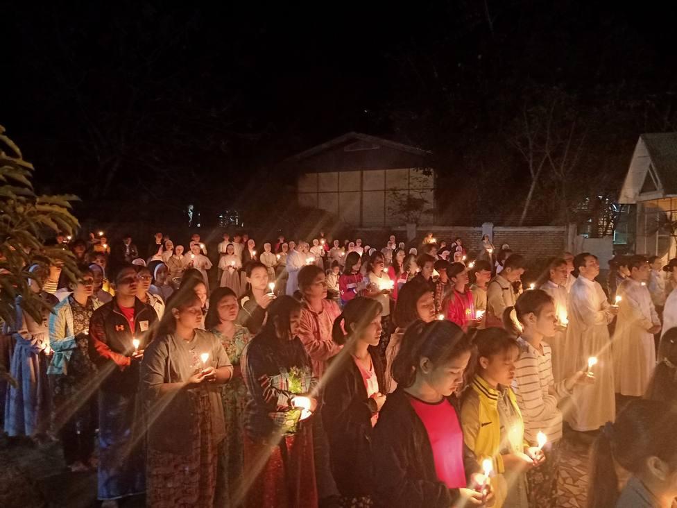 El mensaje desesperado de un sacerdote desde Myanmar