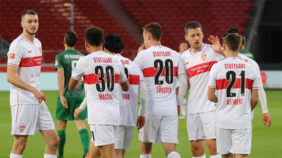 El Stuttgart se reencuentra con la victoria un mes después