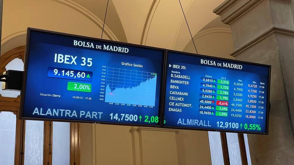 La Bolsa abre la semana con ganancias
