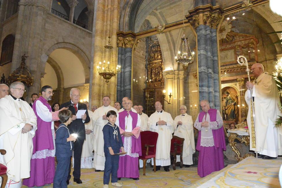 Ofrenda del Antiguo Reino de Galicia al Santísimo