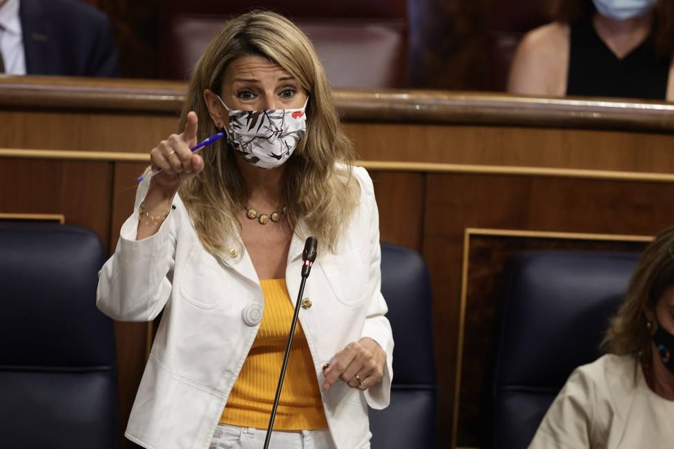 Díaz cree que se avanza hacia una España plural y a una reconciliación con Cataluña gracias a los indultos
