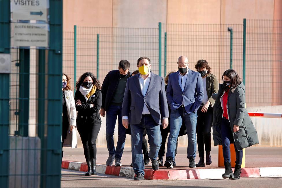 Sánchez enmienda unas condenas marcadas por las entradas, salidas y beneficios de los presos del procés