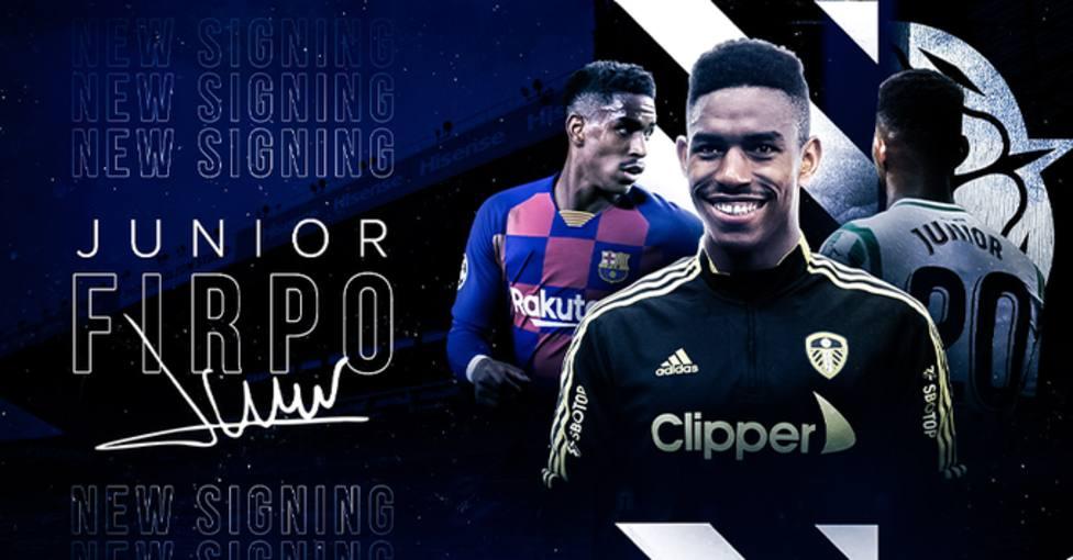 Junior Firpo, nuevo jugador del Leeds