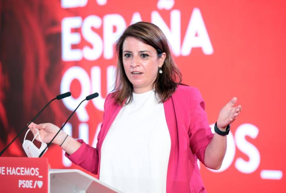 Adriana Lastra asume plenamente las riendas del PSOE ante la inminente salida de Ábalos
