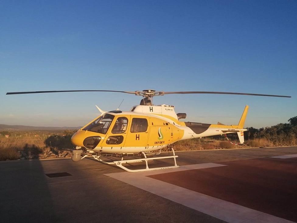 Helicóptero del Infoex