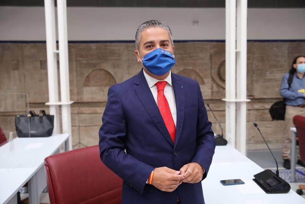 Foto de archivo del diputado regional del PP, Jesús Cano
