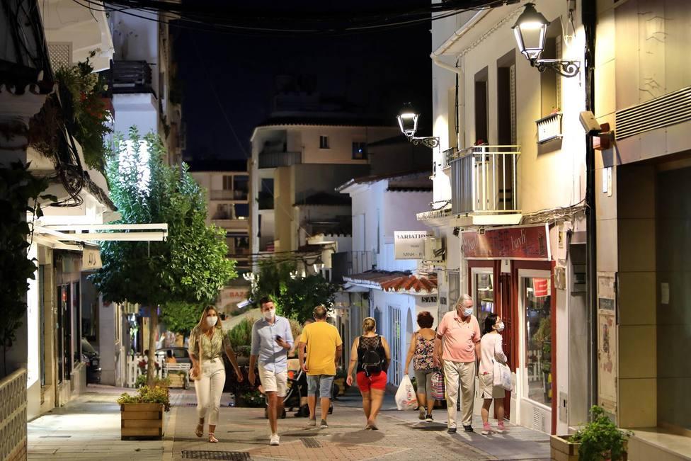 El TSJA ratifica el toque de queda en las localidades de Marbella y Estepona