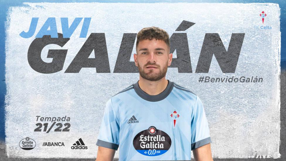 Javi Galán, al Celta de Vigo