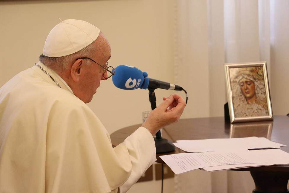 Así te hemos contado minuto a minuto la entrevista de Carlos Herrera al Papa Francisco