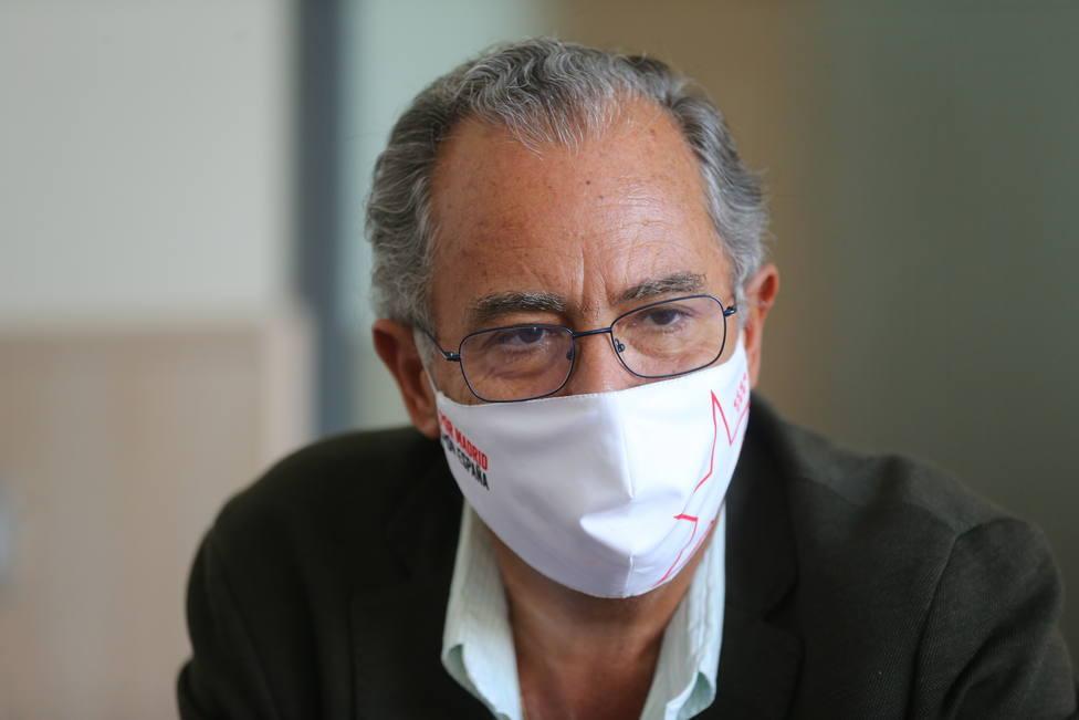 El consejero de Educación de la Comunidad de Madrid, Enrique Ossorio