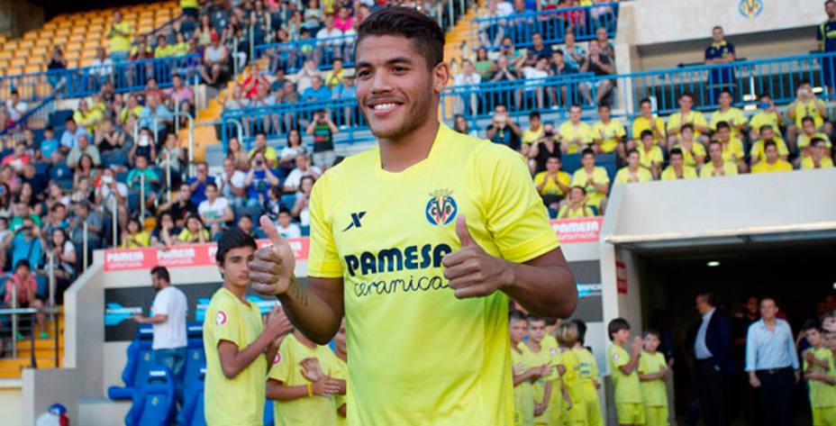 Jonathan dos Santos, nuevo jugador del Villarreal. (www.villarrealcf.es)