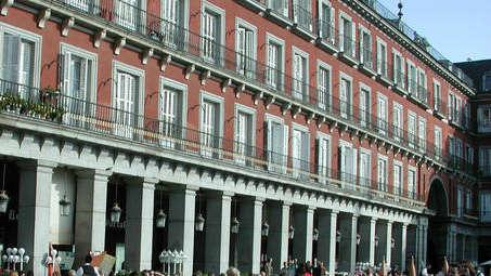 La Plaza Mayor de Madrid. EFE