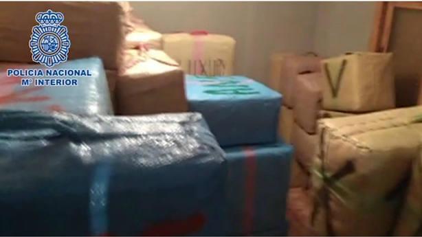Intervienen más de 3 toneladas de hachís en una casa en La Línea