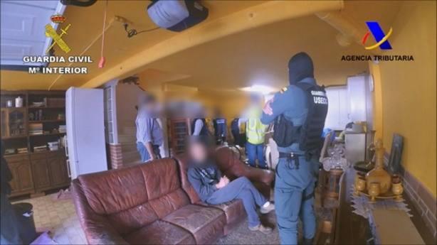 Operación Tanqueta de la Guardia Civil y la Agencia Tributaria