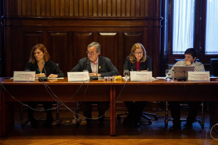 El Parlament de Cataluña cita a comparecer a Sánchez, Rajoy, Puigdemont y Junqueras por el 155