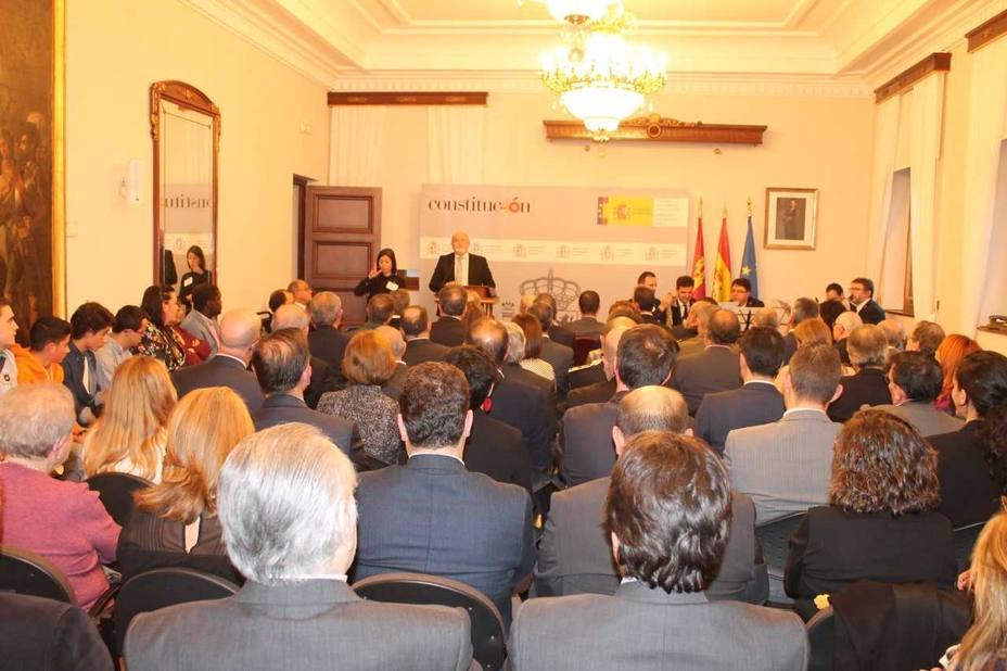 Acto conmemorativo del 40ª Aniversario de la Constitución