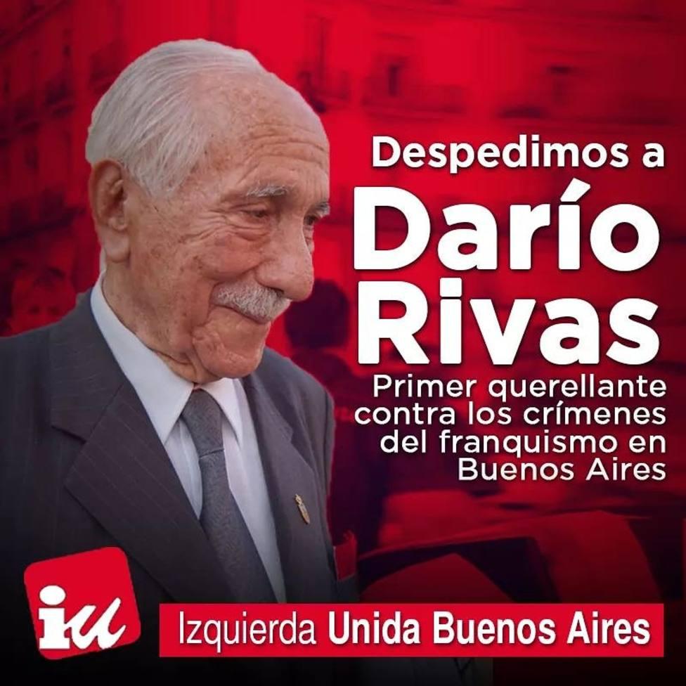 EU pide reconocimiento para el lucense que impulsó querella argentina contra el franquismo