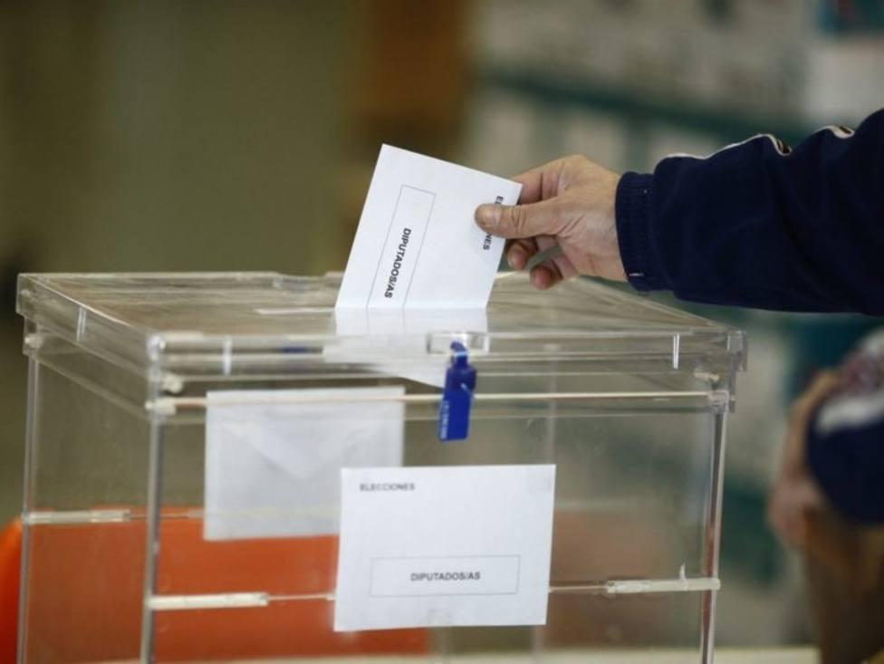 Voto en las elecciones