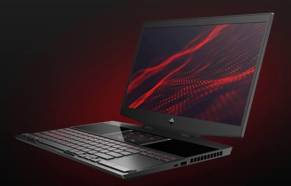 Omen lanza X 2S, el primer portátil gaming con pantalla doble