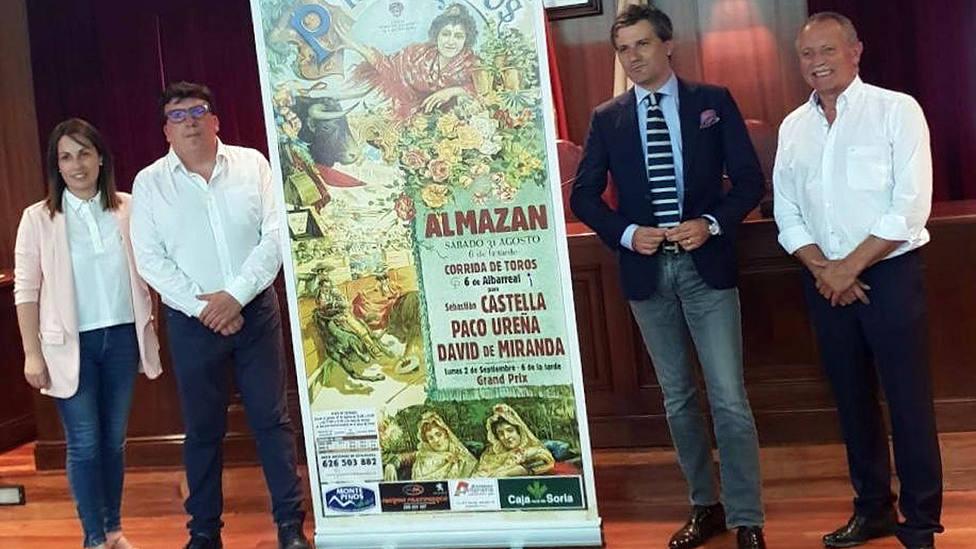 Acto de presentación del cartel de la feria soriana de Almazán