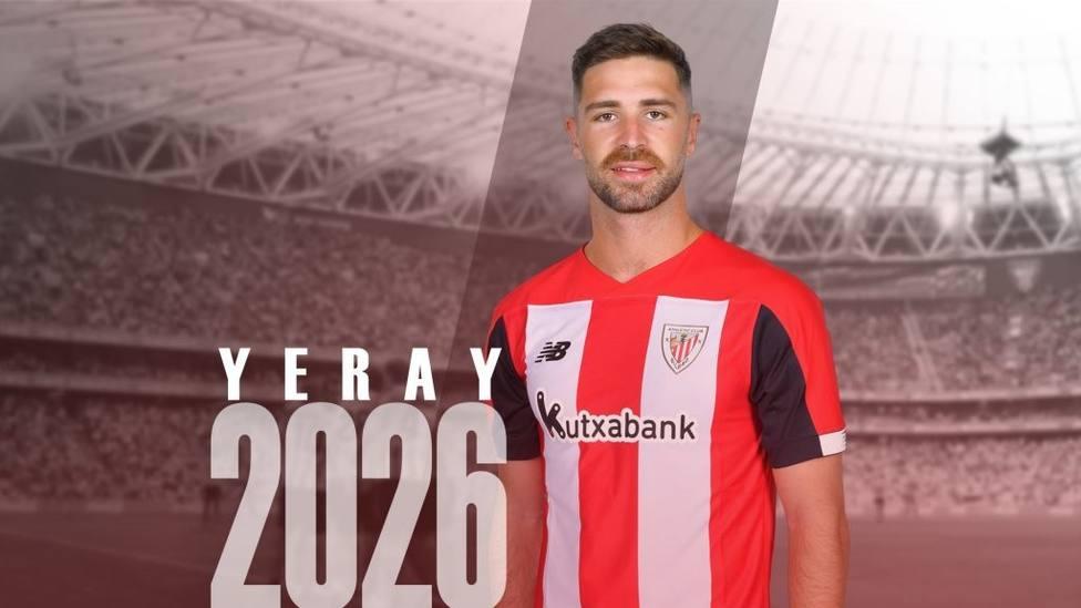 Fútbol.- Yeray Álvarez renueva con el Athletic por siete temporadas: Soy muy afortunado