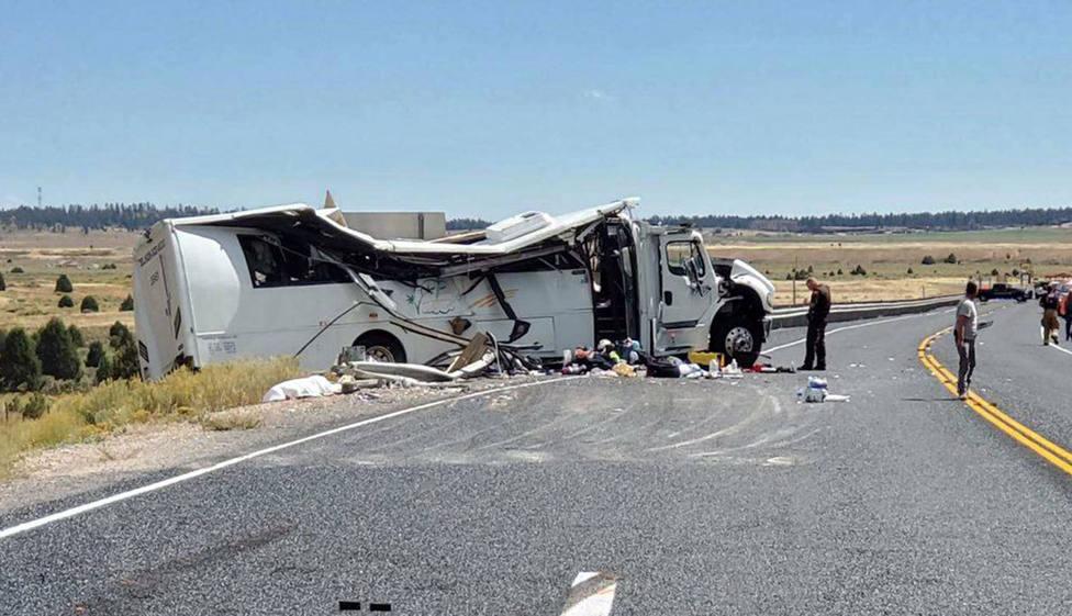 Al menos cuatro turistas de nacionalidad china mueren en un accidente en Utah