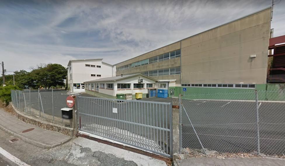 Foto de archivo del colegio de Atios, en Valdoviño