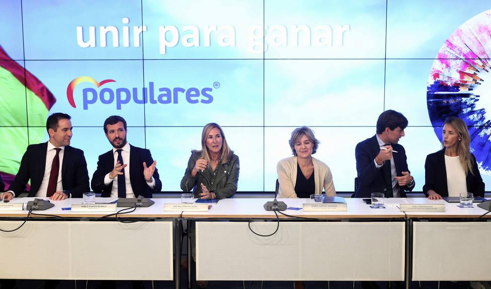 Casado reúne este martes al Comité Ejecutivo del PP para fijar su estrategia ante Pedro Sánchez