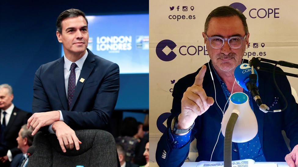 El precio que va a pagar va a ser desorbitado, la carta de una oyente catalana de Herrera a Pedro Sánchez