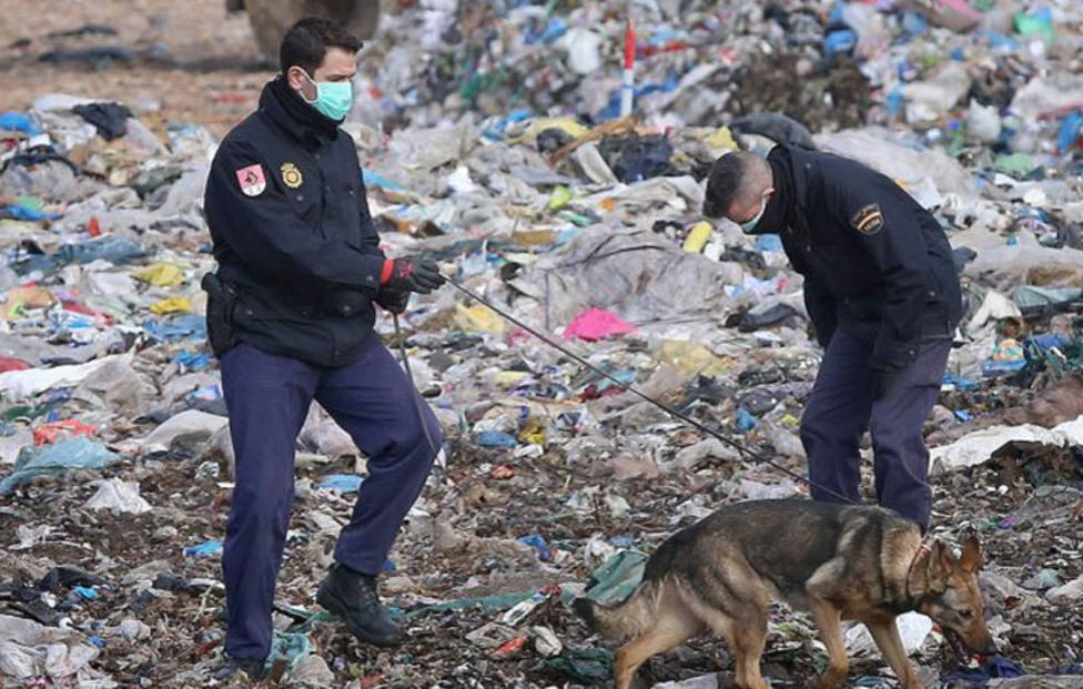 La Policía Nacional suspende la búsqueda de restos humamos en el vertedero de Palencia