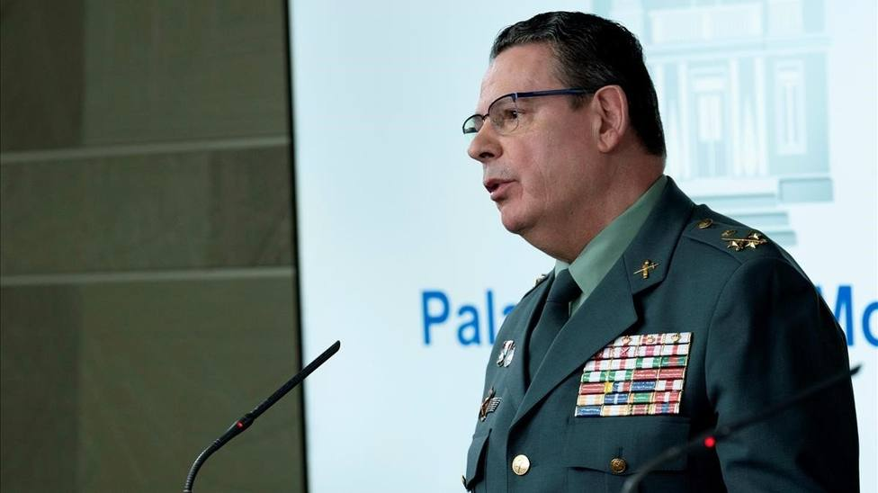 Laurentino Ceña, número dos de la Guardia Civil, positivo por coronavirus